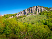 Summer mountain landscape in Crimea Stock Photography