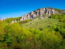 Summer mountain landscape in Crimea Stock Photography