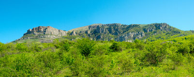 Summer mountain landscape in Crimea Stock Photos