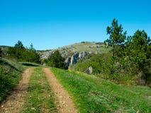 Summer mountain landscape in Crimea Royalty Free Stock Photos