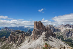 Summer mountain landscape - Dolomites, Italy. Amazing view of the Dolomites - Italy Royalty Free Stock Photography