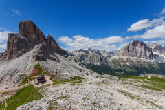Summer mountain landscape - Dolomites, Italy. Amazing view of the Dolomites - Italy Stock Images