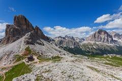 Summer mountain landscape - Dolomites, Italy Stock Images