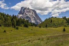 Summer Mountain landscape - Dolomites, Italy Royalty Free Stock Photo