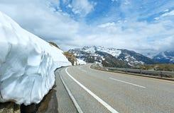 Summer mountain landscape (Grimsel Pass, Switzerland) Stock Image