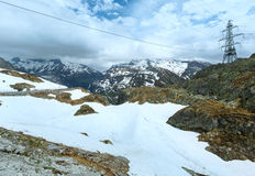 Summer mountain landscape (Grimsel Pass, Switzerland) Stock Photography