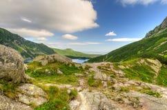Summer mountain landscape. Stock Photos