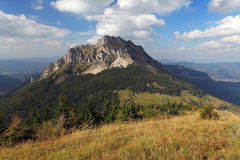 Summer mountain landscape with peak Rozsutec Stock Photography