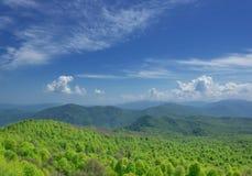 Summer mountain landscape stock photography