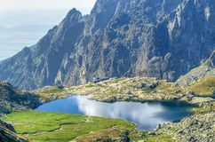 Summer mountain landscape. Royalty Free Stock Photos