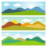 Summer mountain landscapes. Stock Image