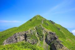 Summer of Mountain Stock Photo