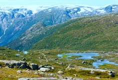 Summer mountain (Norway) Stock Photography