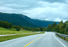 Summer mountain (Norway) Stock Images