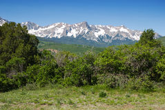 Summer Mountain Range Stock Images