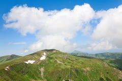 Summer mountain ridge Stock Image