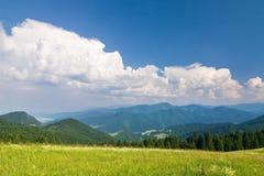 Summer mountain ridge Royalty Free Stock Photography