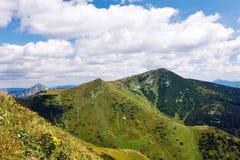 Summer mountain ridge Stock Photo