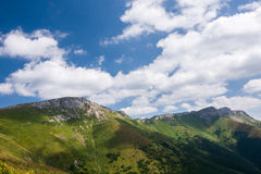 Summer mountain ridge Royalty Free Stock Photography