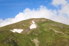 Summer mountain ridge (Ukraine, Carpathian) Stock Photography