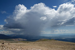 Summer Mountain Storm Royalty Free Stock Photo