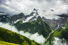 Summer mountain stormy landscape Stock Images