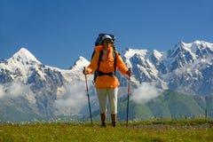 Summer mountain travel Stock Photo