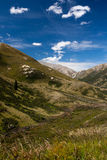 Summer Mountain Valley Royalty Free Stock Photo