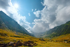 Summer mountain view (Romania) Stock Image