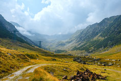 Summer mountain view (Romania) Stock Photography