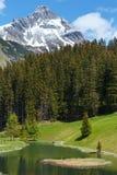 Alpine view (Vorarlberg,Austria) Stock Images