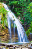 Summer mountain waterfall Royalty Free Stock Images