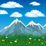 Summer in mountain Royalty Free Stock Photo