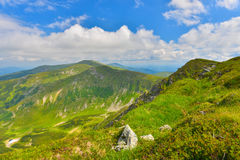 Summer mountains Stock Images