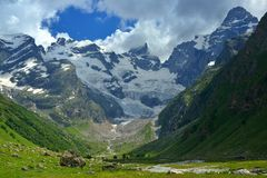 Summer in mountains Royalty Free Stock Photography