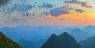 Summer mountains Royalty Free Stock Photo
