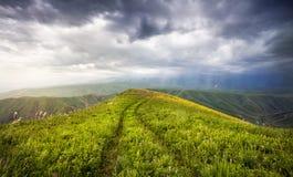Summer mountains in Kazakhstan Stock Image