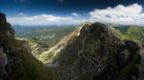 Summer Mountains Panorama Stock Image