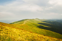 Summer mountains panorama Stock Images