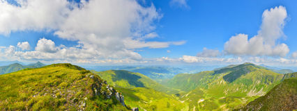 Summer mountains Royalty Free Stock Photography