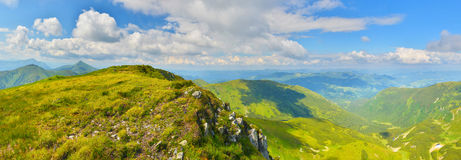 Summer mountains Royalty Free Stock Images
