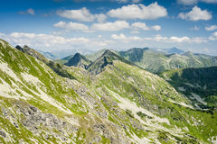 Summer mountains scenery Stock Photography