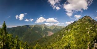 Summer mountains - West Tatras, Slovakia, Europe Royalty Free Stock Photo