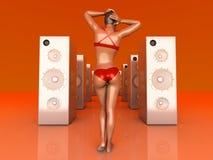 Summer Music Stock Photo