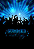 Summer Music Background - Vector Stock Photos