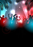 Summer Music Background - Vector Stock Images