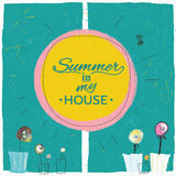 Summer in my house Stock Image