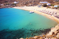 Summer in mykonos Stock Photo