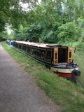 Summer Narrow Boat Royalty Free Stock Photo
