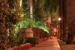 Summer Night at the Mission Royalty Free Stock Photography
